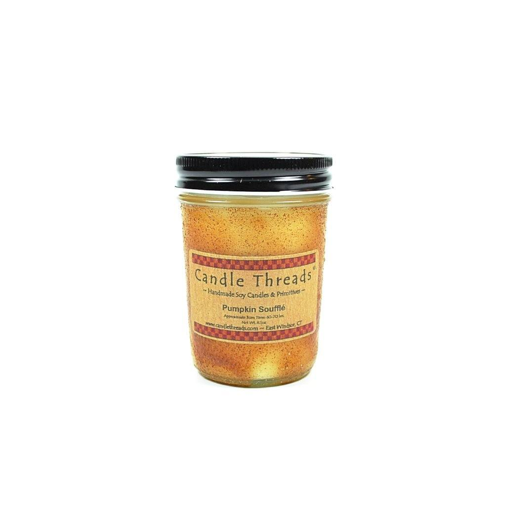 Candle Threads | 8oz Pumpkin Souffle Soy Candle