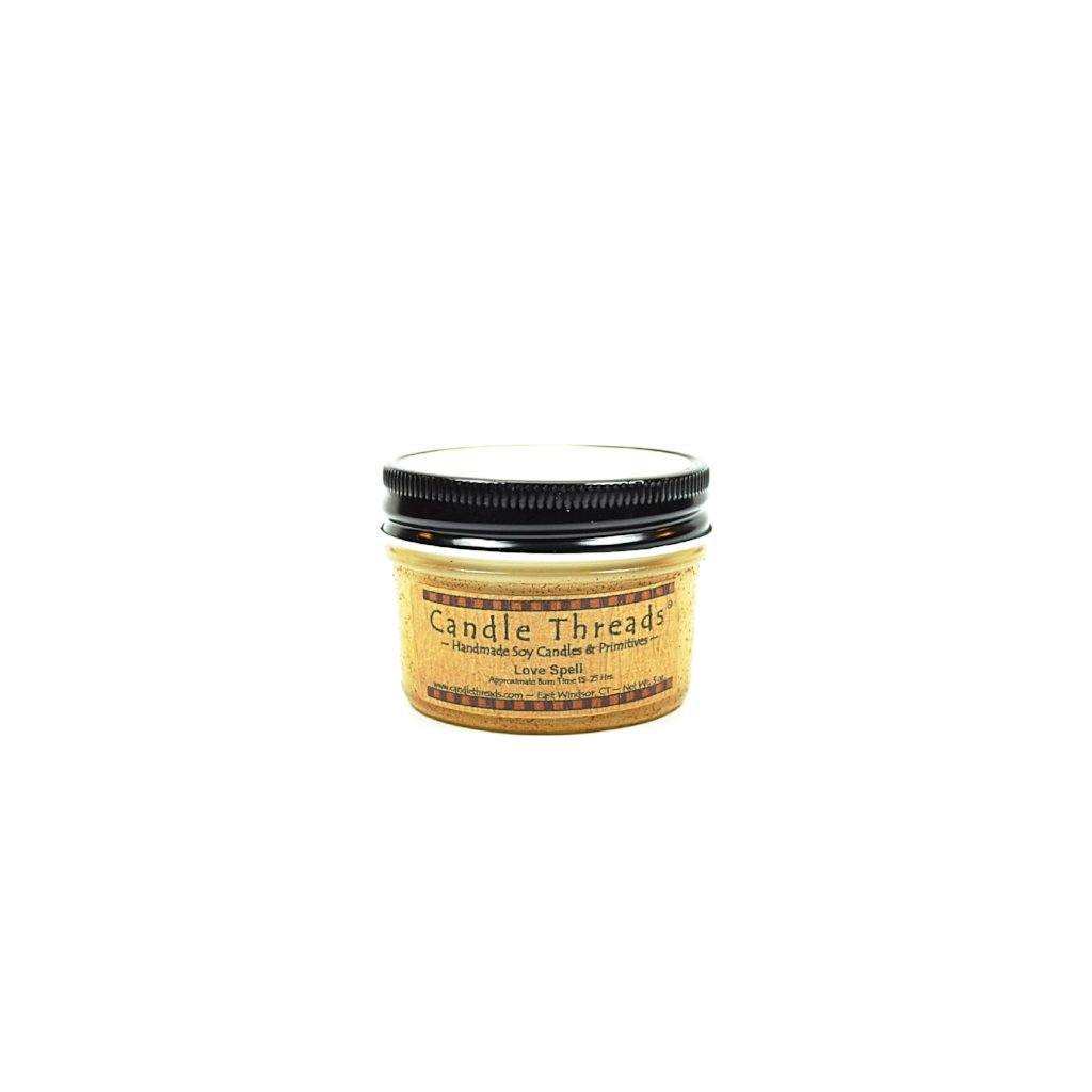 Candle Threads | 4oz Love Spell Soy Candle
