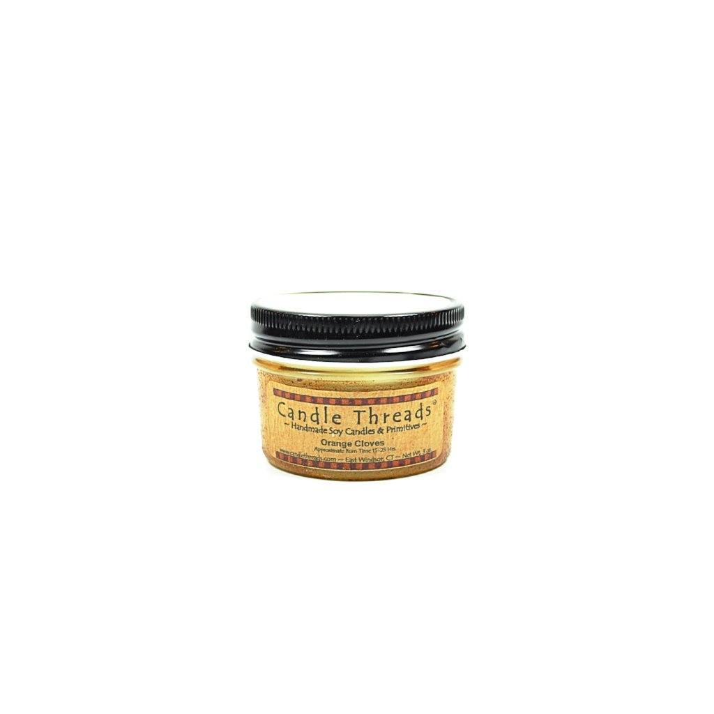 Candle Threads | 4oz Orange Cloves Soy Candle