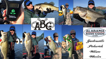6.41 for the Lady! Guntersville Lake Report February 9, 2017