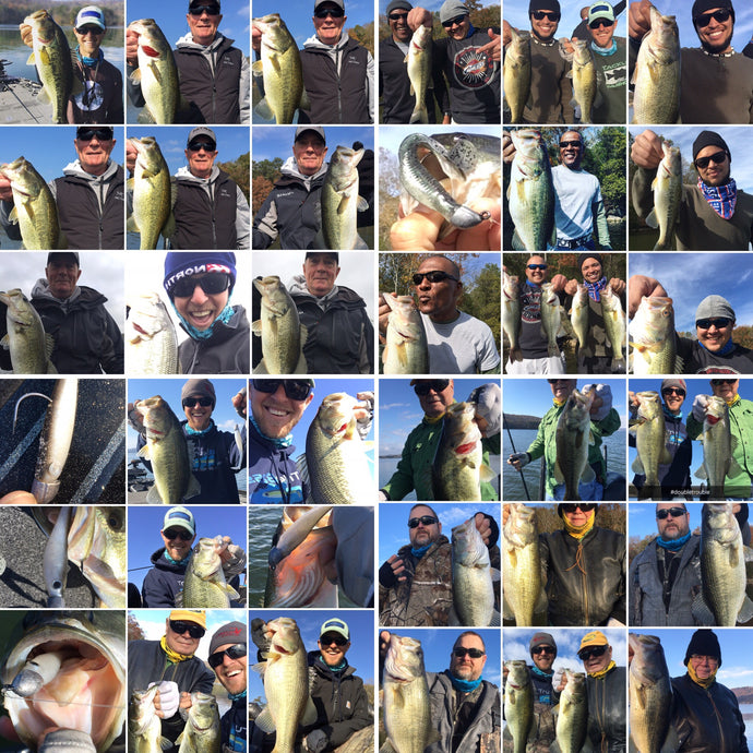 Lake Guntersville November Fishing Report - Fall of the Swimbait
