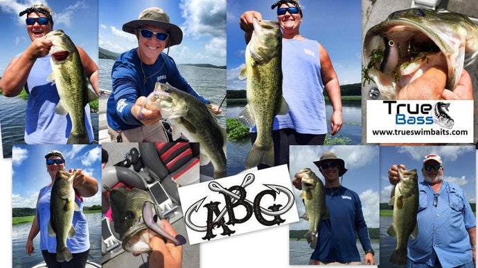 Guntersville Fishing in July - July 13, 2015