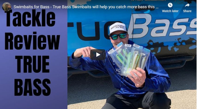 Swimbaits for Bass - True Bass Swimbaits will help you catch more bass this year!