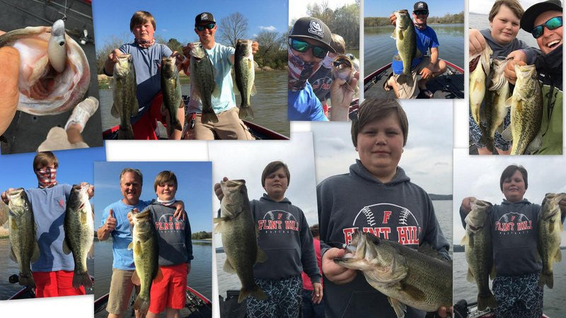 April Guntersville Fishing