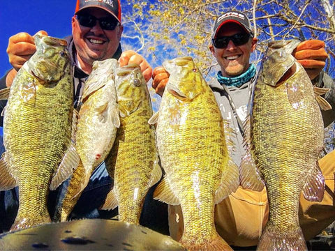 Pickwick Lake Smallmouth Fishing