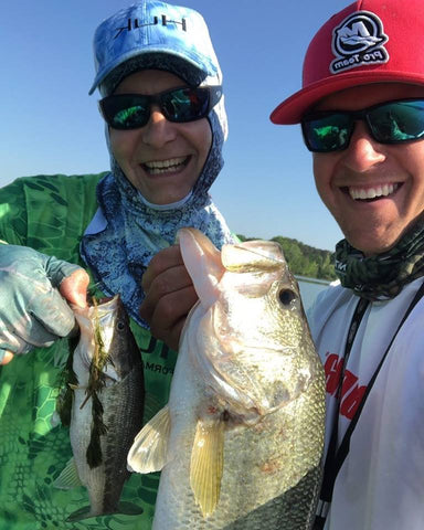 Lake Guntersville Shad Spawn