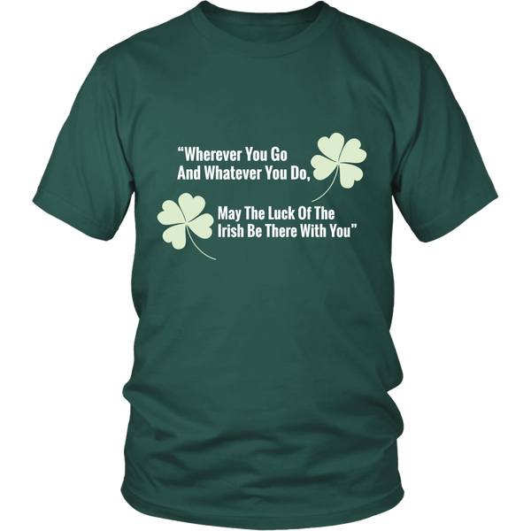 Mens T-Shirt | St Patrick's Day | Luck of the Irish