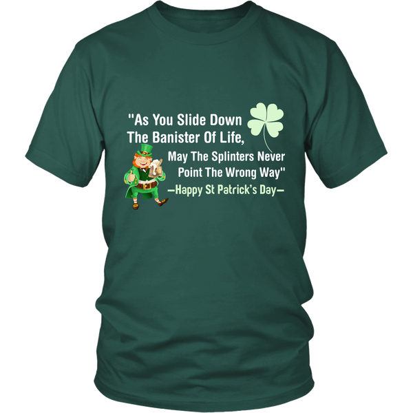 Mens T-Shirt | St Patricks Day | Irish Blessing