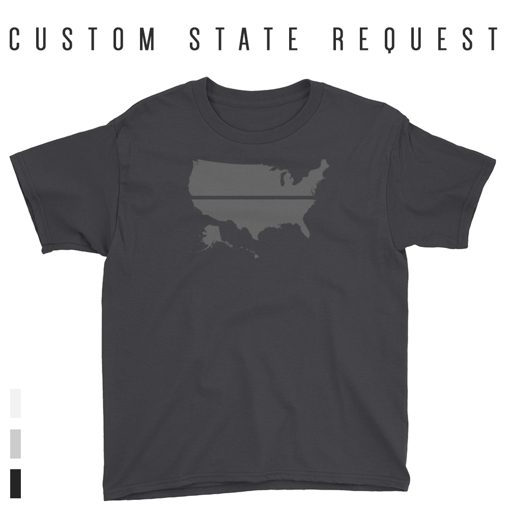 YOUR STATE BLUE SAVES / CUSTOM REQUEST / Youth Short Sleeve T-Shirt