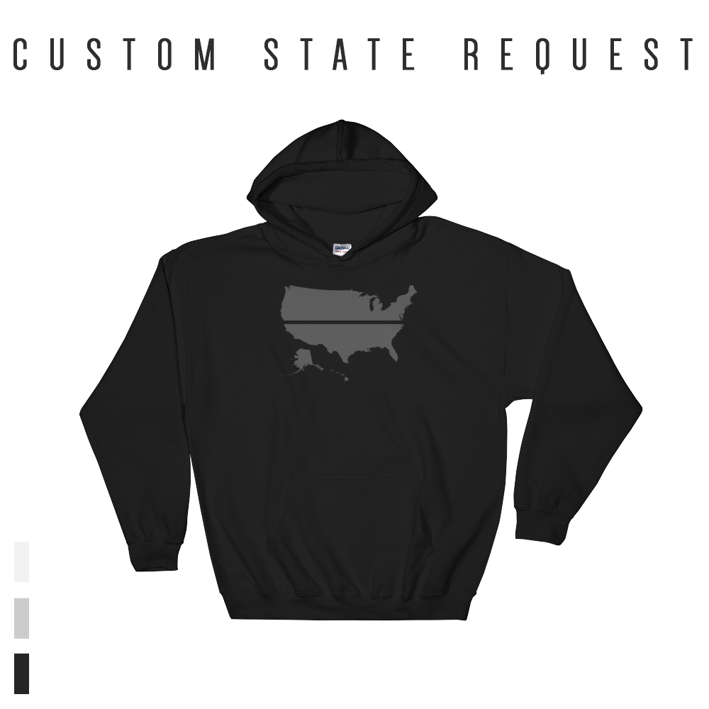 YOUR STATE BLUE SAVES / CUSTOM REQUEST / Hooded Sweatshirt