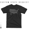 YOUR STATE BLUE SAVES / CUSTOM REQUEST / Men's Short Sleeve T-Shirt / made in the USA