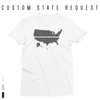 YOUR STATE BLUE SAVES / CUSTOM REQUEST / Women's Short Sleeve T-Shirt / made in the USA