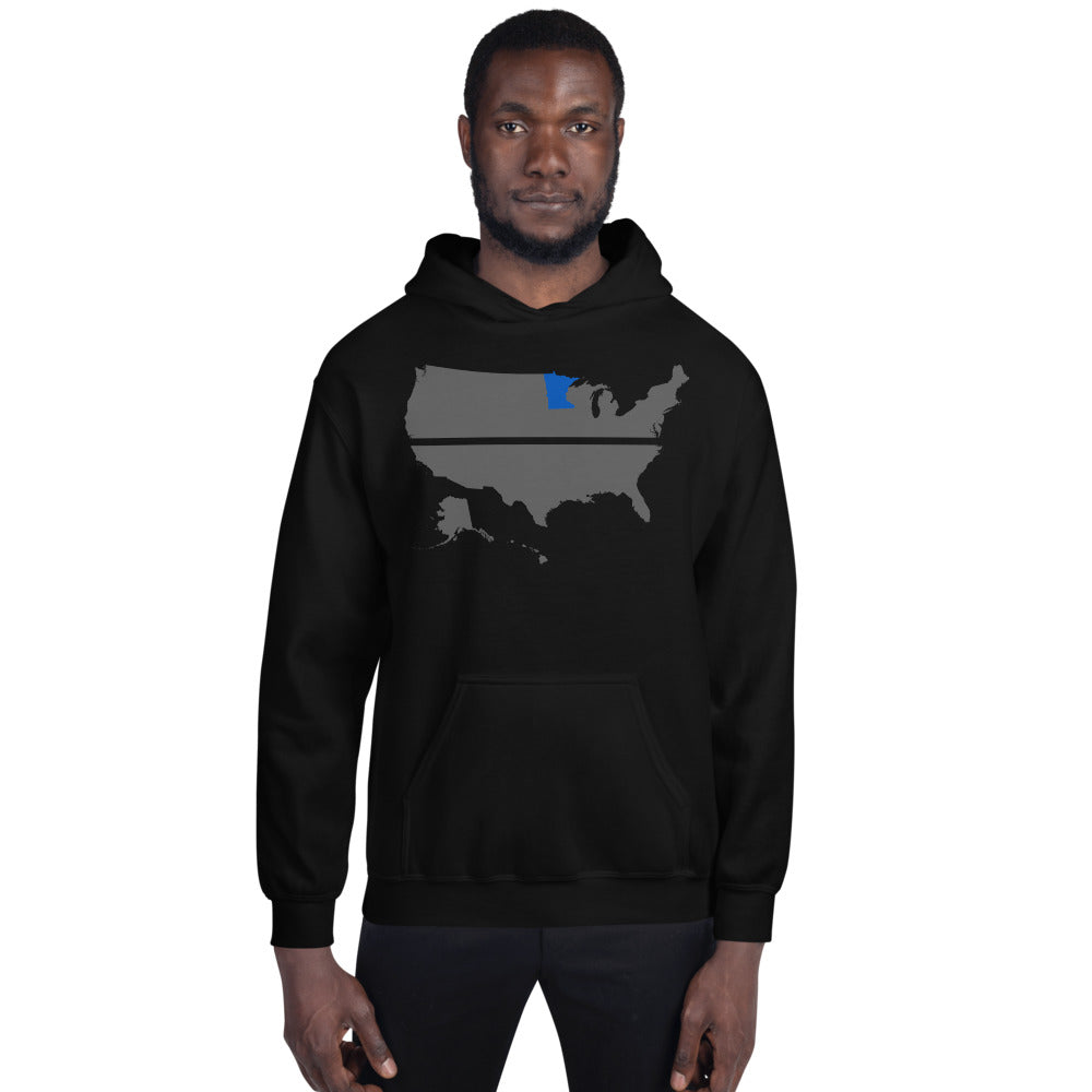 MINNESOTA BLUE SAVES / Hooded Sweatshirt