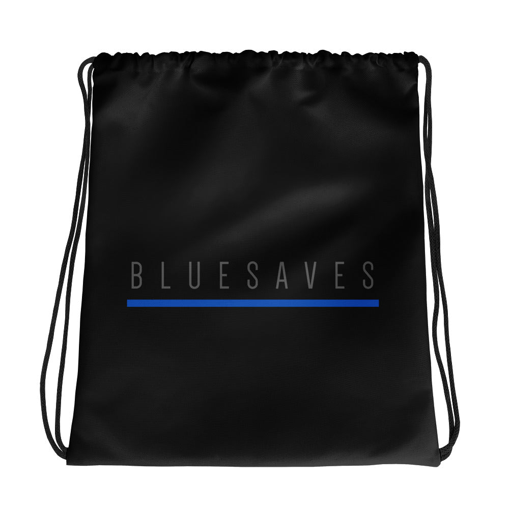 BLUE SAVES / Drawstring bag