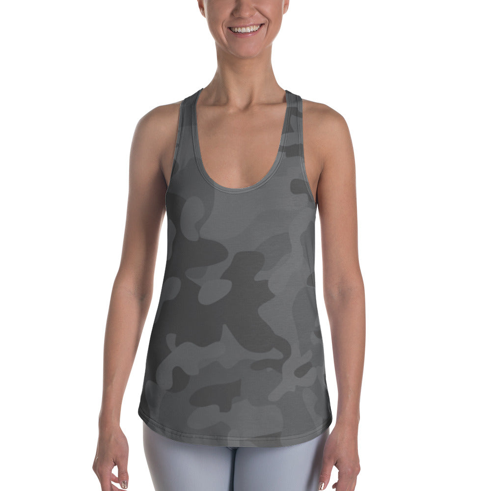 BLUE SAVES WOMEN'S / Camo / Racerback Tank