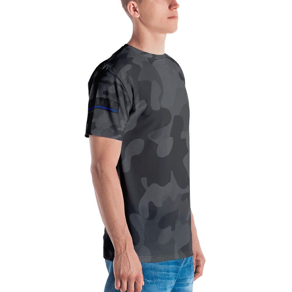 BLUE SAVES MEN'S / Camo T-shirt