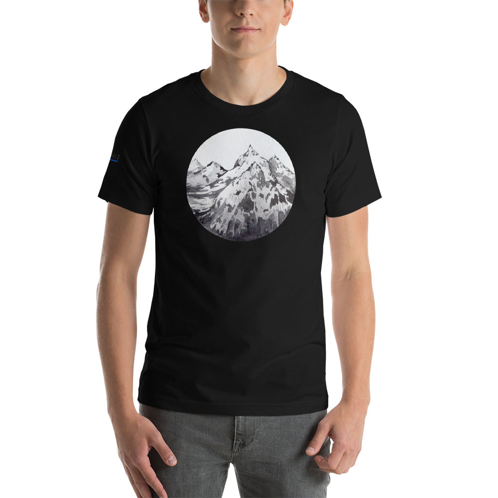 LANDSCAPE / *LIMITED EDITION* / BLUE SAVES / Short-Sleeve Unisex T-Shirt