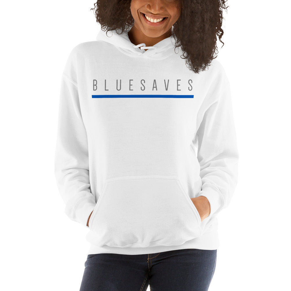 BLUE SAVES WOMEN'S / Hooded Sweatshirt