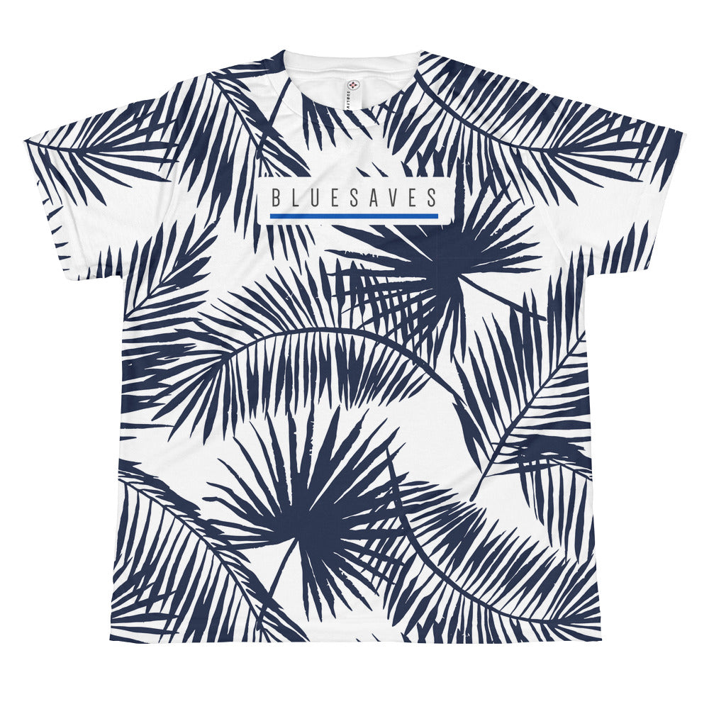 PALMS FOR DAYS / *LIMITED EDITION* / BLUE SAVES / All-over youth T-shirt