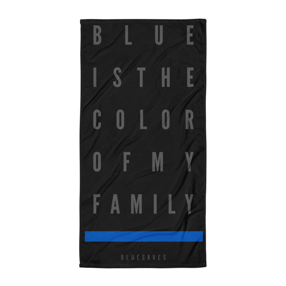 BLUE SAVES / THE COLOR / Beach Towel