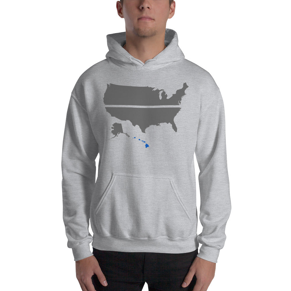 HAWAII BLUE SAVES / Hooded Sweatshirt