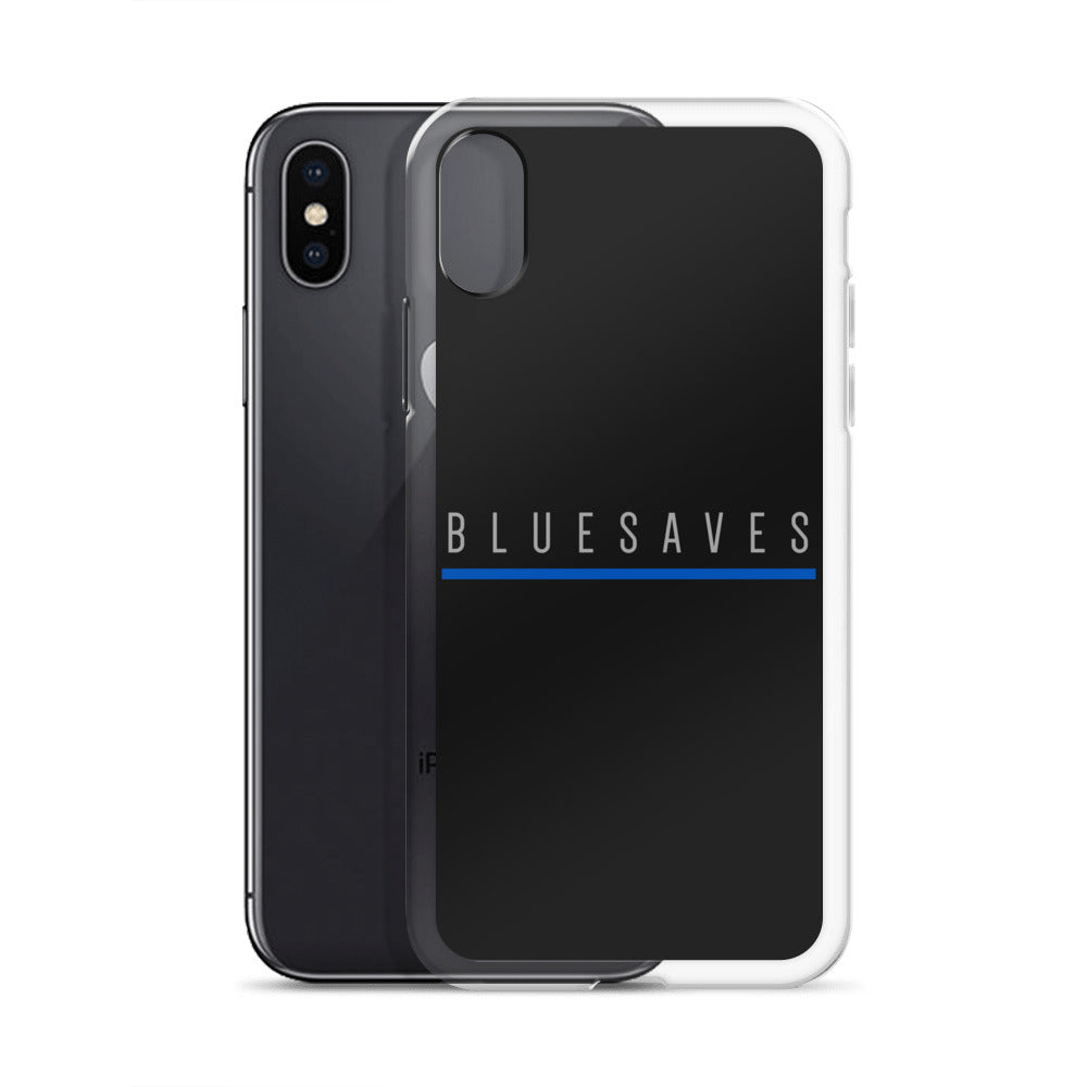 BLUE SAVES / iPhone Case