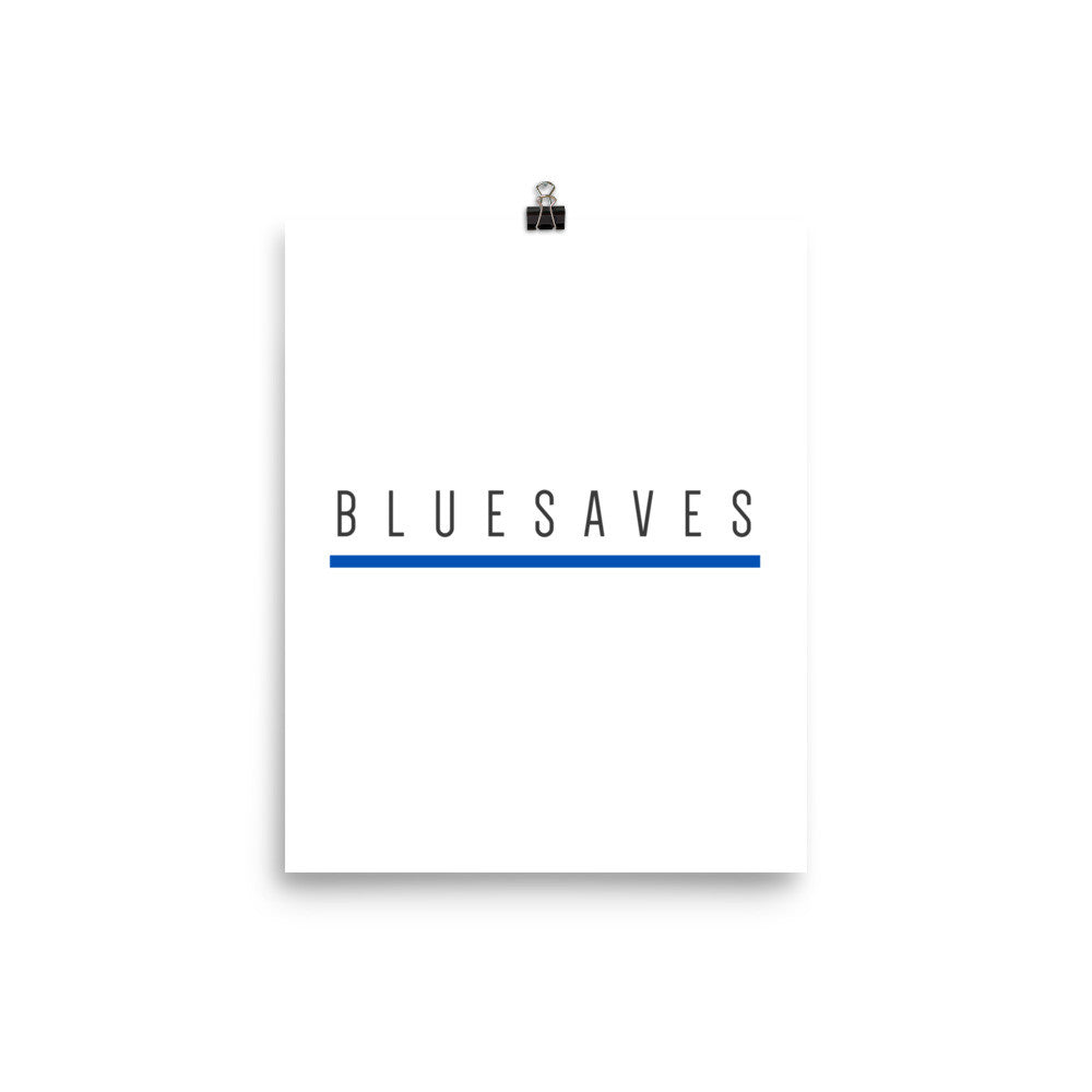 BLUE SAVES / Poster