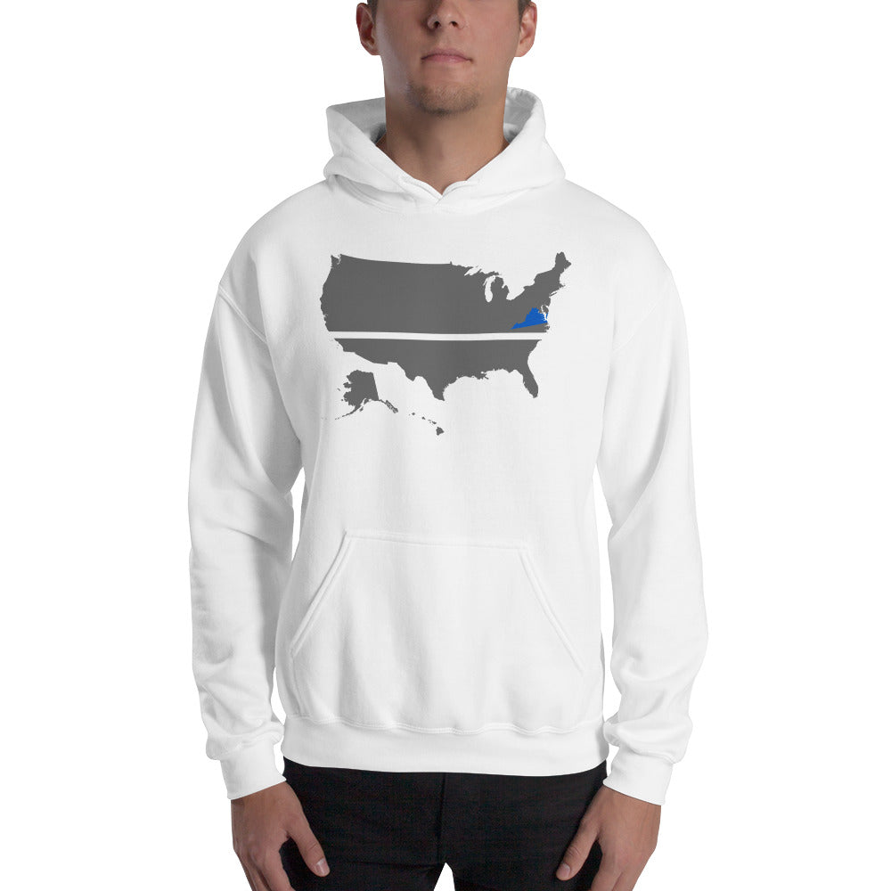 VIRGINIA BLUE SAVES / Hooded Sweatshirt