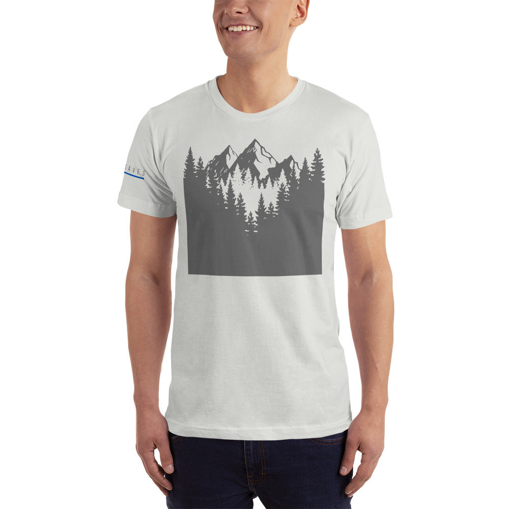 MOUNTAIN VIEW / BLUE SAVES MEN'S / *LIMITED EDITION* / T-Shirt