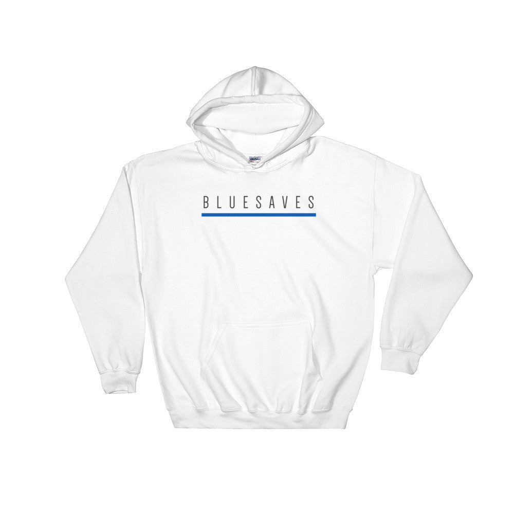 BLUE SAVES / Hooded Sweatshirt