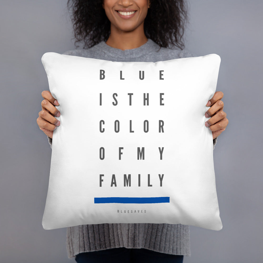 BLUE SAVES / THE COLOR / Accent Pillow