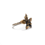small floral succulent ring