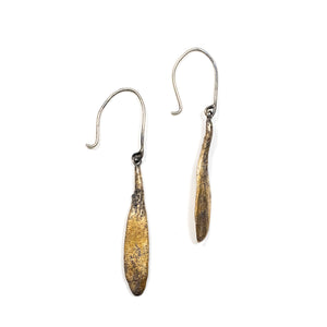 ash seed earrings: dangle