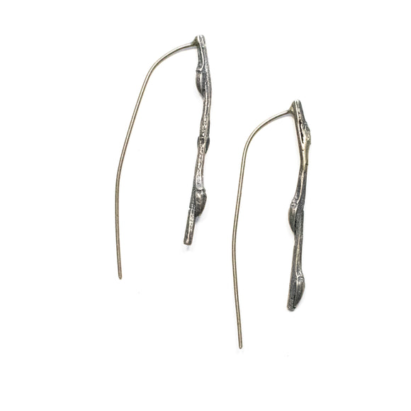 twig earrings: small