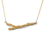 twig necklace