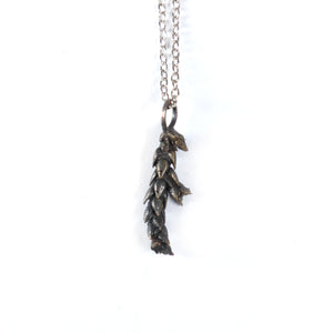 bronze succulent necklace: scale - annual