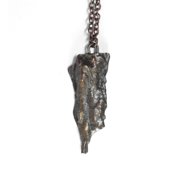 copper tree bark necklace 4 - annual