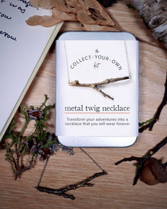 The Collect Your Own Twig Necklace KIT : custom twig necklace