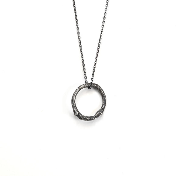 willow necklace : single ring