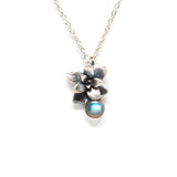 stone necklace: succulent