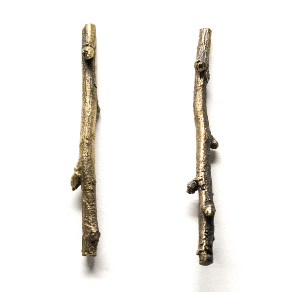 twig earrings: medium