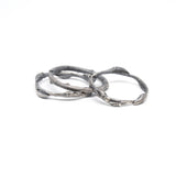 willow rings: set of three