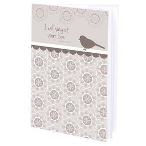 Gina B. Designs I Will Sing Mini Journal