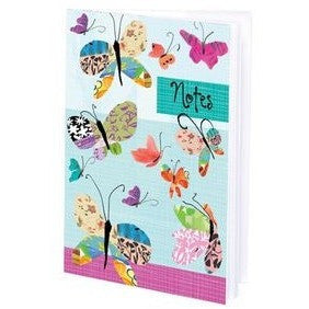 Gina B. Designs Colorful Butterflies Mini-Journal