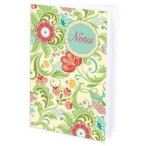 Gina B. Designs Fleur Floral Cream Mini-Journal