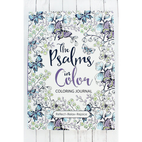 Psalms In Color, Coloring Book