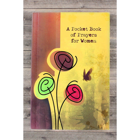 "This book of prayers features a soft cover, 128 pages of prayers for women and measures 4"" w x 6"" h."