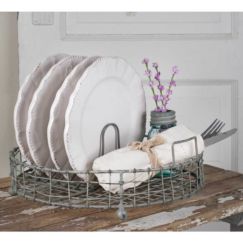 Vintage Farmhouse Style Dish Rack
