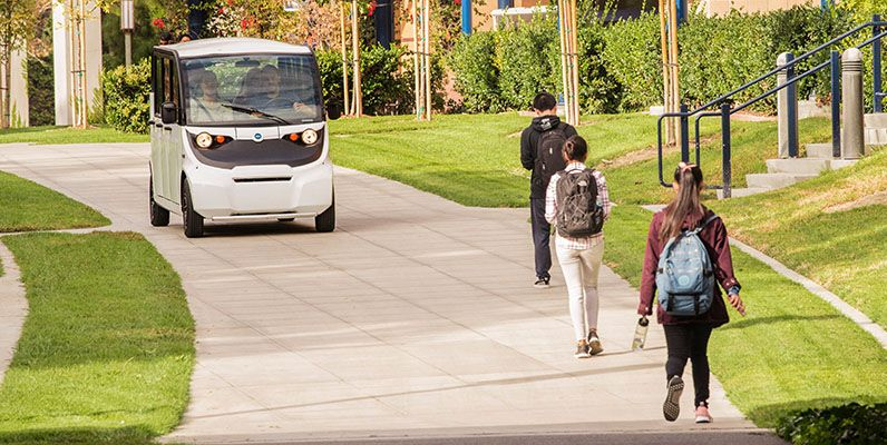 Enhance Campus Safety with GEM Vehicles