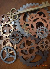 MASSIVE Large Steampunk Gears. Steam Punk Huge Gears Custom Craft 3D Printed Hand Painted Giant Gears Diameter Big Cogs & Sprockets - Victorian Foundry